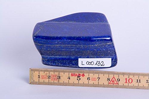 Lapislazuli,Lapis,EX, geschliffen, poliert, Edelsteine, Mineralien, L000132