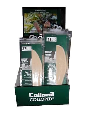 Collonil - Semelle Coton Eponge Et Fibres De Coco Pointure - 37