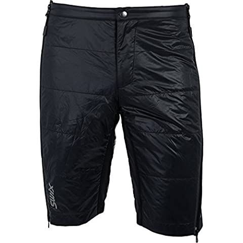Swix Roma sdal Quilted Short Men – Black, L