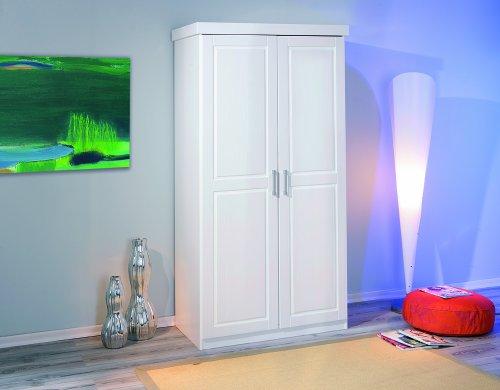 Interlink-Hakon-armadio-a-2-ante-in-legno-di-pino-colore-bianco