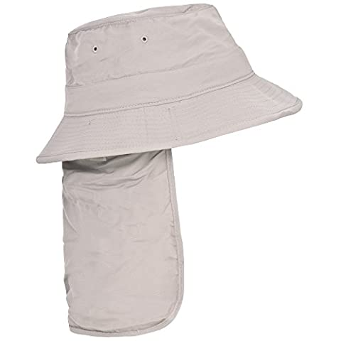 Trespass Adults Unisex Bearing Bucket Hat With Neck Protector (M/L)