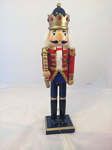 Smart Deko 44275 Deko Nussknacker 38 cm für Geschenke, Weihnachten, Dekoration (Weihnachten Nussknacker Dekoration)