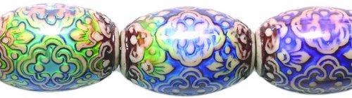 Shipwreck Beads Mirage Polymer-Perlen, Farbwechsel, persische Schönheits-Perlen, 14 x 21 mm, 2 Stück (Schönheit Persische)