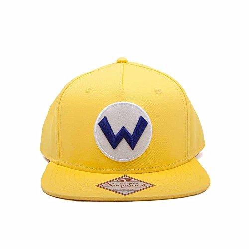 Unbekannt Super Mario sb092401ntn Nintendo Wario Logo Snapback Cap (One Size)