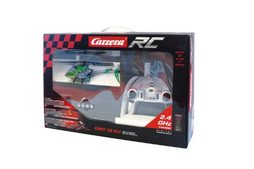 Carrera RC Helicopter Green Chopper - 3