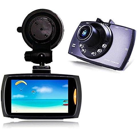 linkte Gray HD 1080P cámara de seguridad para coche DVR para coche Novatek 96220Vehículo Viajar tacógrafo visión nocturna Grabador de fecha pantalla LCD de 2,7pulgadas