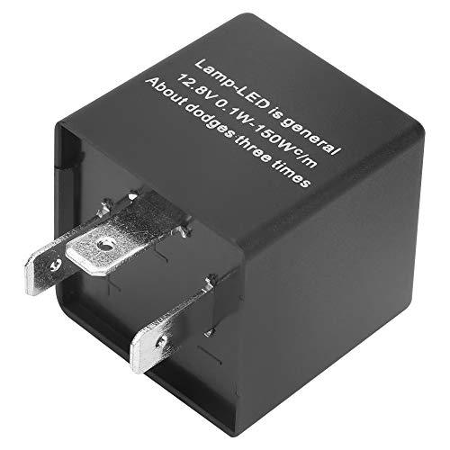 LED-Blinkrelais 3-polig 0.1W-150W CF13 JL-02 Einstellbares für Blinker Hyper Flash Fix 12.8V 150w Flash