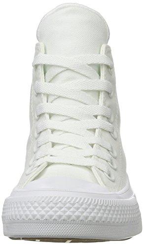 Converse CT II Hi, Sneakers Mixte Adulte Blanc (White/white/navy)