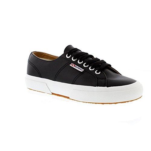 Superga 2750 Nappaleau, Sneaker Unisex – Adulto Black