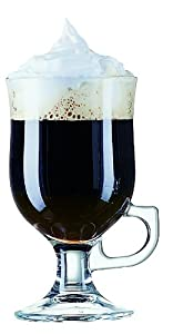 Toughened glass 8oz Irish coffee glasses set of 6 - ARCOROC.