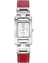 GO Girl Only Damen-Armbanduhr Analog Leder 696814