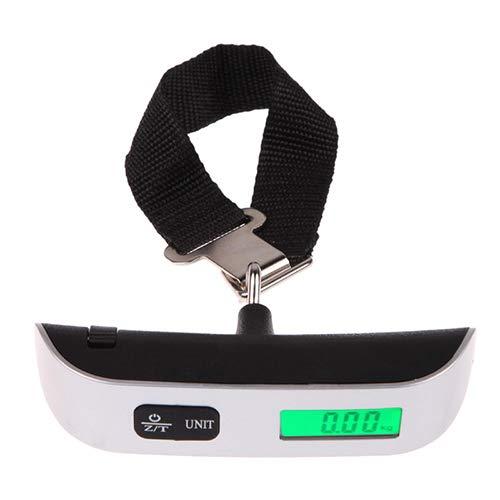 Digital escala electrónica portátil 50KG/10g colgar electrónico digital viaje maleta maletas Balanzas...