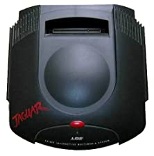 Atari Jaguar Cartridge Game Console System with Free Cybermorph Game RF Unit and UK Power Adapter-Collectable (Jaguar)