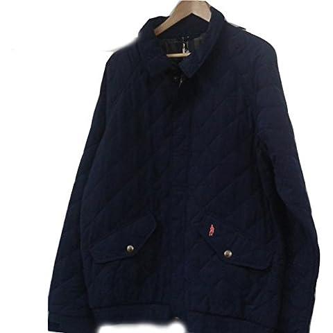Jack Murphy Oisin–Forro a Cuadros Bomber chaqueta azul marino tamaño grande