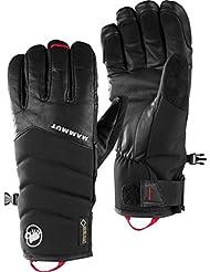 Mammut alvier Glove, negro