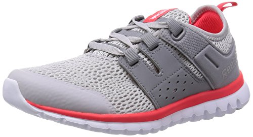 Reebok Women's Sublite Authentic 2.0 Silver,Grey,Red And White Running Shoes – 5 UK 41mzftXBUPL