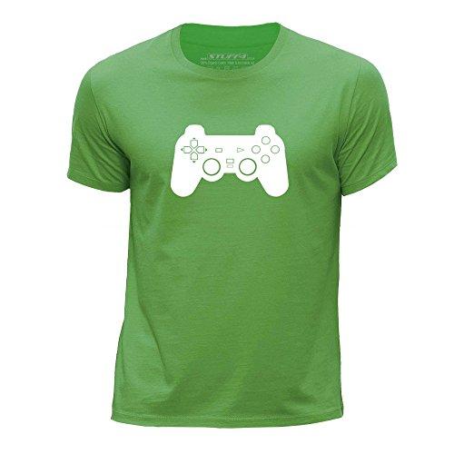Preisvergleich Produktbild STUFF4 Jungen/Alter 12-14 (152-164cm)/Grün/Rundhals T-Shirt/PS1/PS2/PS3 Playstation Controller