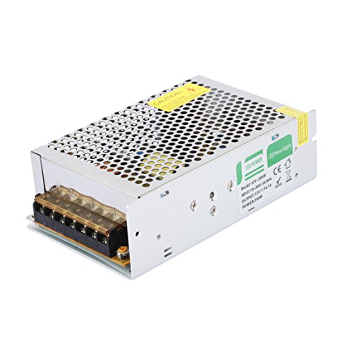 Preisvergleich Produktbild Liqoo® 200W DC 12V 16,7A LED Netzteil Treiber Trafo Transformator Netzgerät für Leuchmittel Streifen 160 x 98 x 48mm