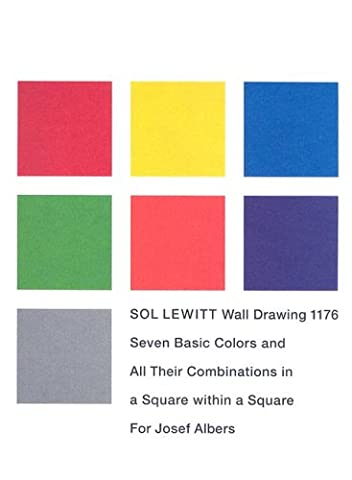 Sol Lewitt Wall Drawing 1176: Seven Basic Colors And All Their Combinations in a Square Within a Square For Josef Albers