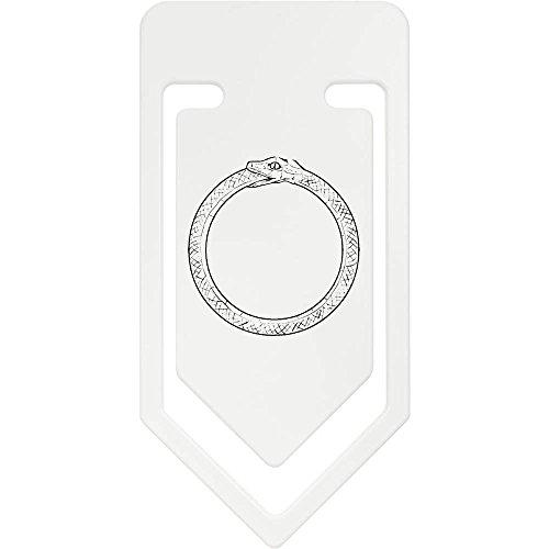 141mm 'Schlange Essen Schwanz (Ouroboros)' Riesige Plastik Büroklammer (CC00000562) Schlange Essen Schwanz