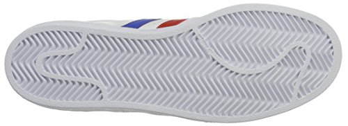 adidas Superstar Foundation Schuhe 6,5 white/blue/red - 3