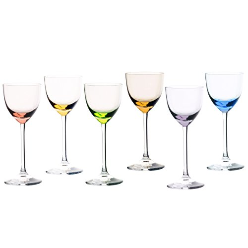 Cristal Sévres Verre Sèvres Turckeim - Jeu de 6 Verres à vin N.2