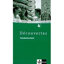 Découvertes / Vokabellernheft - Band 4