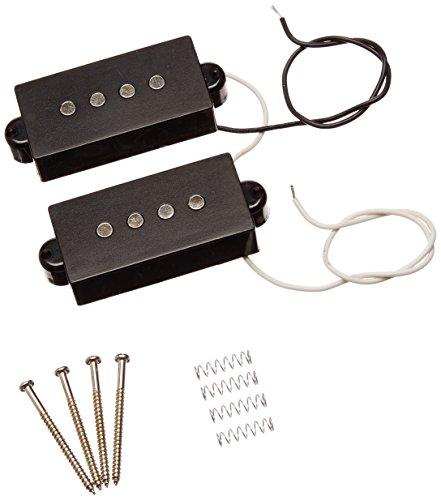 1Set 4Saiten rauscharmes Tonabnehmer schwarz für Precision P Bass Ersatz