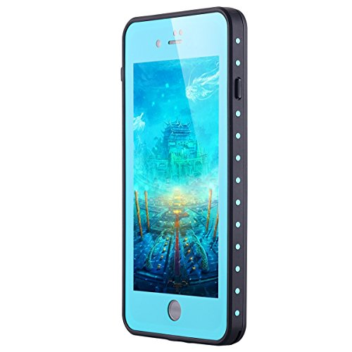 iPhone 7Plus impermeabile cellulare, iPhone 7Plus Waterproof case, lontect [Touch ID accessibili] [certificata IP68] 6.6ft Underwater Full Body Shockproof neve Dirt Poof tasca per Apple iPhone 7Pl knickente