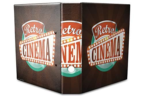 Archivador A4 Carpeta 2 anillas 60mm impreso Cine retro