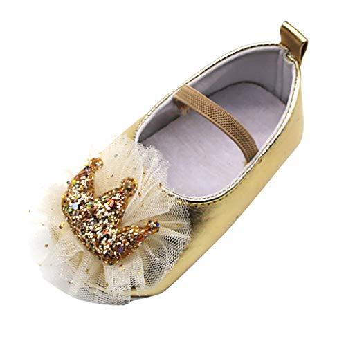 Baby Prinzessin Schuhe, Mädchen Outdoor Sport Sandalen Sommer Hausschuhe Freizeitschuhe süße Hausschuhe Kostüm Ballerina Festliche Mädchenschuhe Taufschuhe Schuhe