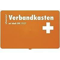 Söhngen 3003045 Verbandkasten KIEL, DIN 13157, B 26 x H 16 x T 8 cm, orange preisvergleich bei billige-tabletten.eu