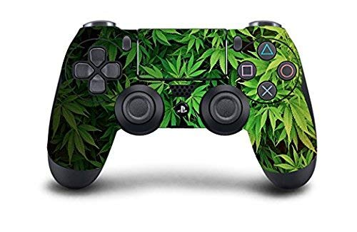 PS4 Dualshock 4 Controller Skin Custom Console Pro Modded Chip Mehrfarbig PS4-Weed Plants PS4 Non-Modded Controller Non-touch-bundle