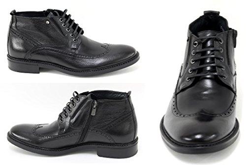 Muga Hommes chaussures Boots -1280- Noir