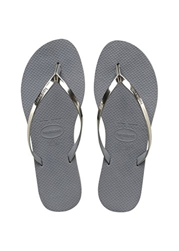 Havaianas Infradito Donna You Metallic Argento (Steel Grey 5178)