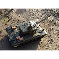 1:16 Remote Control RC R/C Airsoft BB Snow Leopard M26 Battle Tank - Compare prices on radiocontrollers.eu
