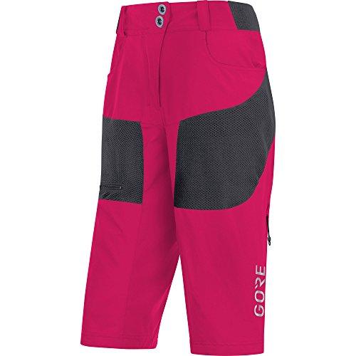 Gore Wear C5 All Mountain Pantalón Corto, Mujer, Rosa (Rosa), 34
