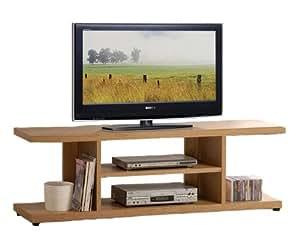 easy living holz tv st nder seite 150 x 39 x 47 cm k che haushalt. Black Bedroom Furniture Sets. Home Design Ideas