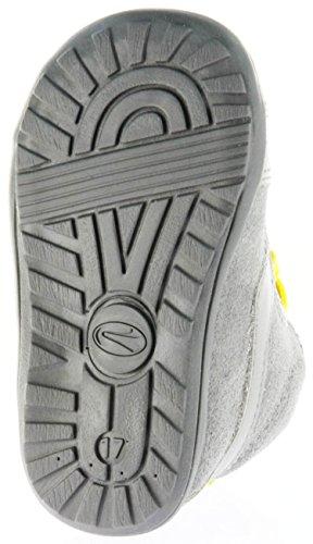 Richter Kinder Minis grau Velourleder Jungen-Schuhe 0028-141-6101 rock Mini Grau