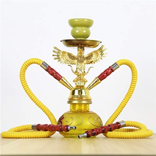 TcooLPE Elegante cachimba, Khalil Mamoon KM Shisha Hookah Cafe Style Shisha egipcia Genuina Color ...
