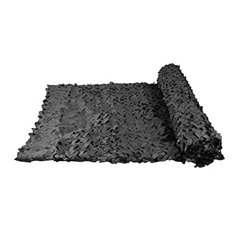 XXXHHH Schwarzwald Camouflage Net Oxford Net Schutz Air Defense Camouflage Outdoor UV Schutz Camping Camping Party Dekoration Hidden Camp Shelter Zelt Camouflage Cover (1,5 * 2m) (größe : 4 * 8m) Air Oxford