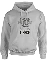 She Is Fierce, Printed Hoodie