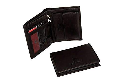 negozio online 60f3d 020b4 Pierre Cardin Mini portafoglio uomo verticale moro pelle con ...