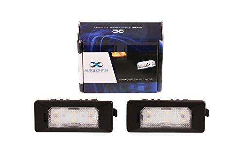 Preisvergleich Produktbild Premium LED Kennzeichenbeleuchtung Nummernschildbeleuchtung für 610 2