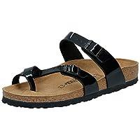 Birkenstock Mayari Patent, Women's Fashion Sandals, Black (Patent Black 71093), 39 EU