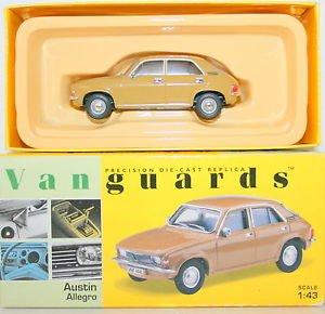 corgi-vanguards-austin-allegro-harvest-gold-car-143-scale-diecast-model