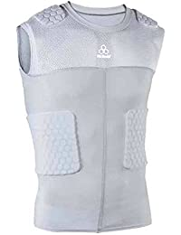 McDavid Classic 7870Y CL Youth HexPad Sleeveless 5 Pad Body Shirt Grey Small by McDavid