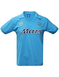 0c1b108447717 SSC Napoli Vintage 1988 89 Mars Retro Camisa (100% algodón