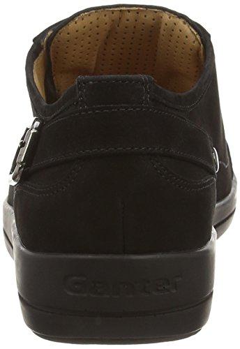 Ganter Giulietta, Weite G, Baskets Basses femme Noir - Noir (0100)