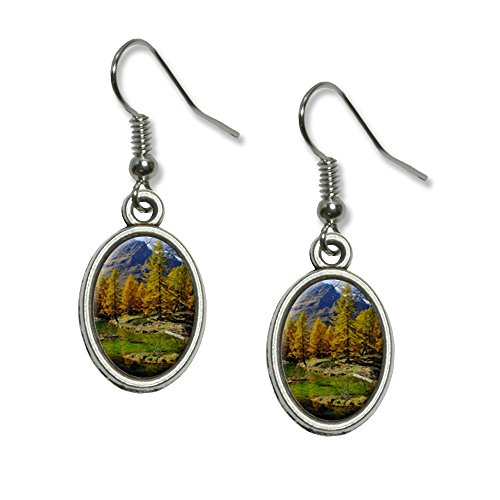 lago-bleu-matterhorn-pennine-alps-landscape-novelty-dangling-drop-oval-charm-earrings